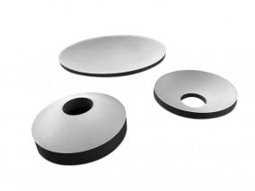 PZT-DM4D-φ35xR24.5x孔11mmxH0.5弧型面压电陶瓷